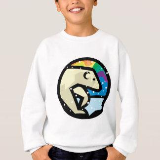 Agasalho design do círculo do urso polar