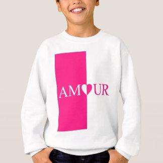 Agasalho Design do rosa do amor do CASO AMOROSO