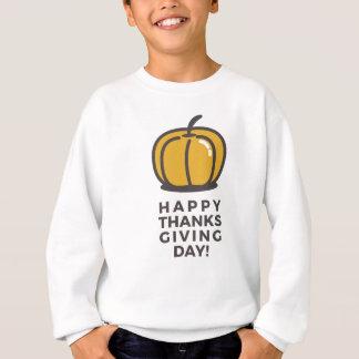 Agasalho Design feliz da abóbora do dia da acção de graças