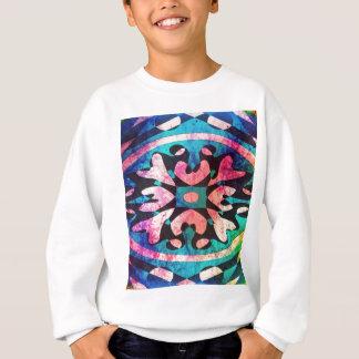 Agasalho Design no fundo colorido