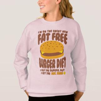 Agasalho Dieta livre de gordura do hamburguer