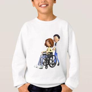 Agasalho Doutor Wheeling Paciente Cadeira de rodas dos