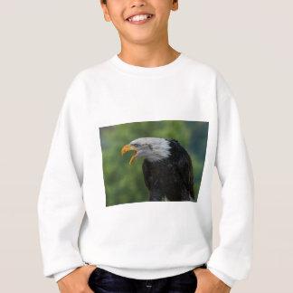 Agasalho Eagle preto branco durante o dia