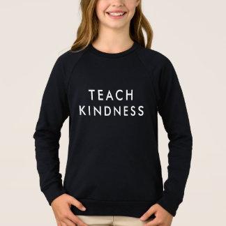 Agasalho Ensine o t-shirt da bondade - projeto da inclusão