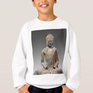 Agasalho Escultura descolorada de Buddha - dinastia de Tang