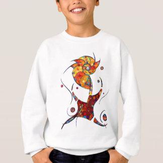 Agasalho Espanessua - flor espiral imaginária