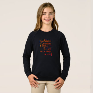 Agasalho Especiaria e tudo da abóbora camisola agradável