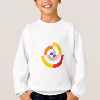Agasalho Espiral colorida