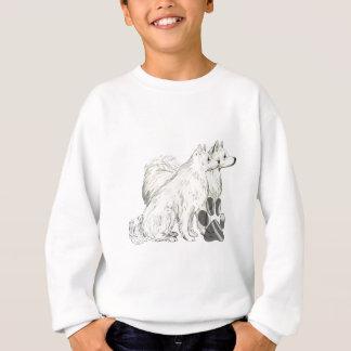 Agasalho esquimós e pawprints americanos