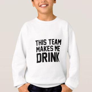 Agasalho Esta equipe faz-me beber