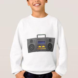 Agasalho estilo Boombox de Hip Hop dos anos 80