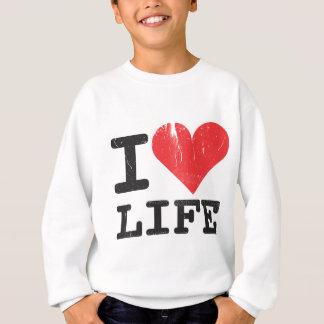 Agasalho Eu amo a camisola dos miúdos da vida