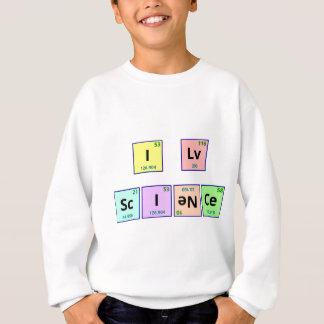 Agasalho Eu amo a ciência