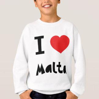 Agasalho Eu amo Malta