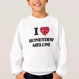 Agasalho Eu amo melões de Honeydew