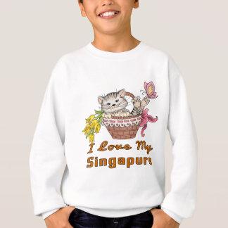 Agasalho Eu amo meu Singapura