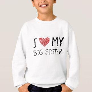 Agasalho Eu amo minha irmã mais velha