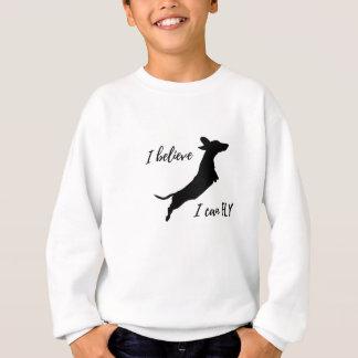 Agasalho Eu belive mim posso voar o dachshund