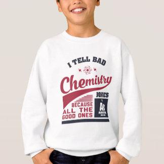 Agasalho Eu digo piadas más da química