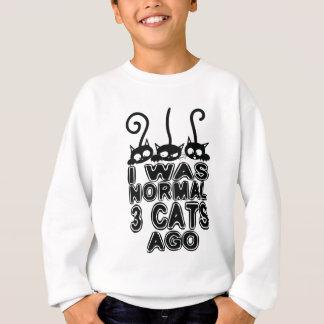 Agasalho Eu era gatos normais há