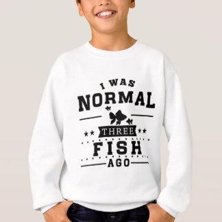 Agasalho Eu era três peixes normal há