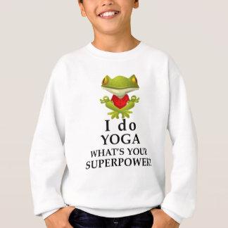 Agasalho eu faço a ioga que s seu poder super