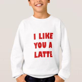 Agasalho Eu gosto de você um Latte