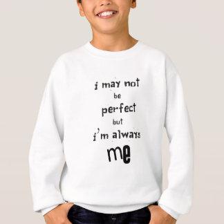Agasalho eu não posso ser perfeito mas eu sou sempre mim