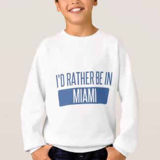 Agasalho Eu preferencialmente estaria em Miami