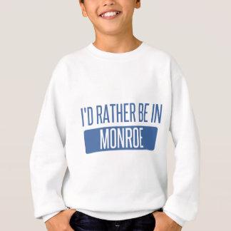 Agasalho Eu preferencialmente estaria em Monroe
