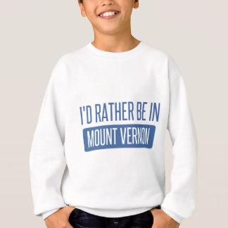 Agasalho Eu preferencialmente estaria em Mount Vernon