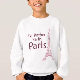 Agasalho Eu preferencialmente estaria em Paris