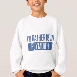 Agasalho Eu preferencialmente estaria em Plymouth