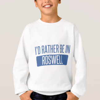 Agasalho Eu preferencialmente estaria em Roswell nanômetro