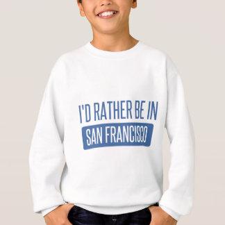 Agasalho Eu preferencialmente estaria em San Francisco