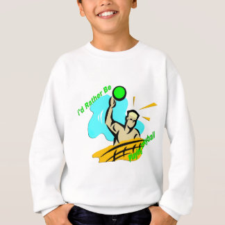 Agasalho Eu preferencialmente estaria jogando o voleibol