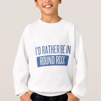 Agasalho Eu preferencialmente estaria na rocha redonda