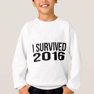 Agasalho Eu sobrevivi a 2016