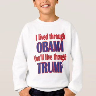 Agasalho Eu sobrevivi a Obama