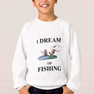 Agasalho Eu sonho da pesca