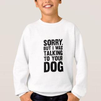 Agasalho Fala a seu cão