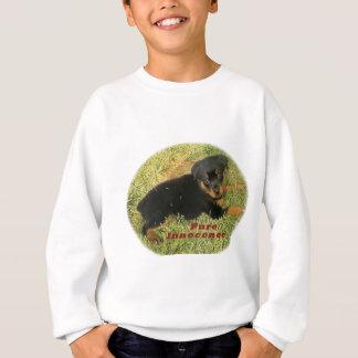 Agasalho filhote de cachorro do rottweiler do pureinnocence