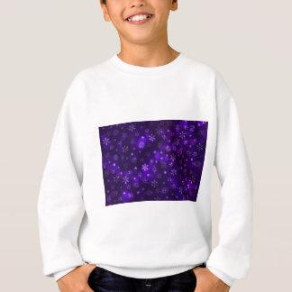 Agasalho Flocos de neve violetas
