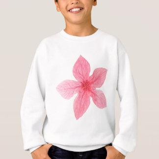 Agasalho flor cor-de-rosa da aguarela
