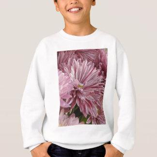 Agasalho Flor listrada cor-de-rosa