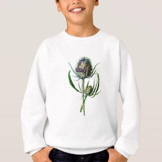 Agasalho Flor selvagem da antiguidade do cardo do Scottish