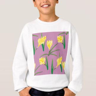 Agasalho Flores amarelas do açafrão