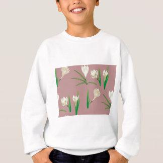 Agasalho Flores brancas do açafrão