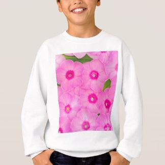 Agasalho flores cor-de-rosa pequenas