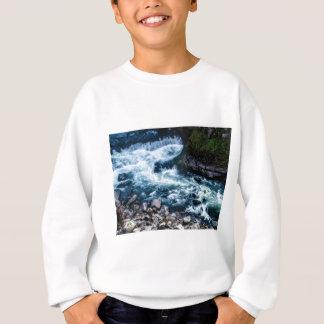 Agasalho fluxo do branco do rio